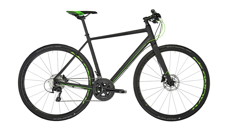 Cube SL Road Race Hybridcykel svart